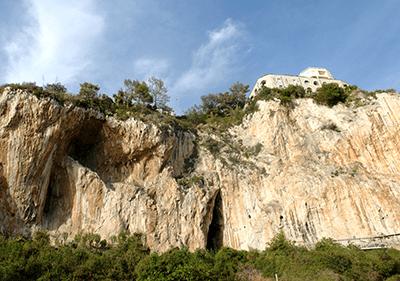 Les grottes de Balzi Rossi en Ligurie
