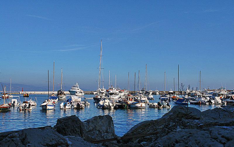 Le beau port de Santa Margherita Ligure