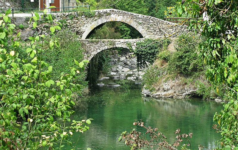 Un beau pont de Molini di Triora