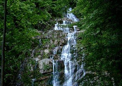 Cascate dell'Arroscia en Ligurie