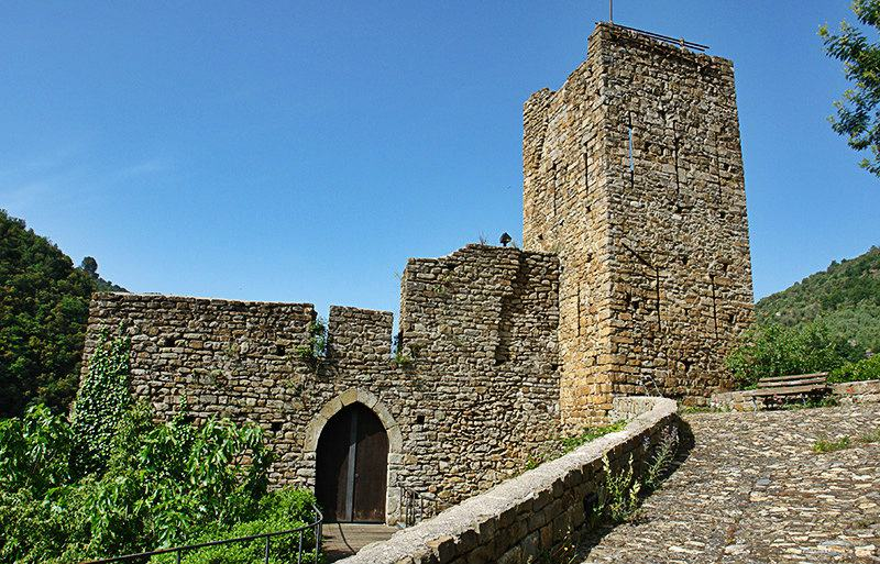 Castello Doria à Isolabona en Ligurie