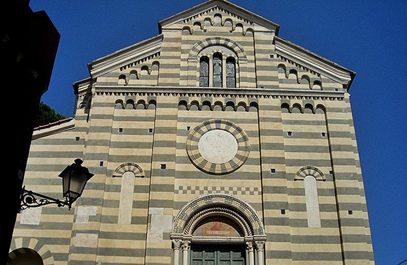 Une église à Celle Ligure