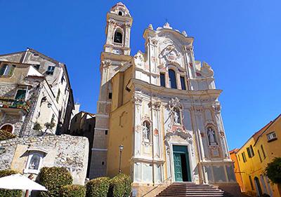 Cervo Baroque Chiesa Parrocchiale di San Giovanni Battista