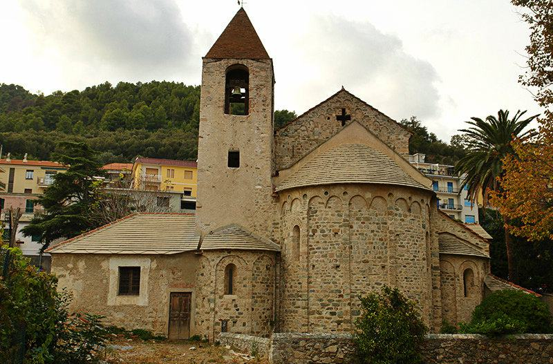 Chiesa di San Paragorio à Noli en Liguria