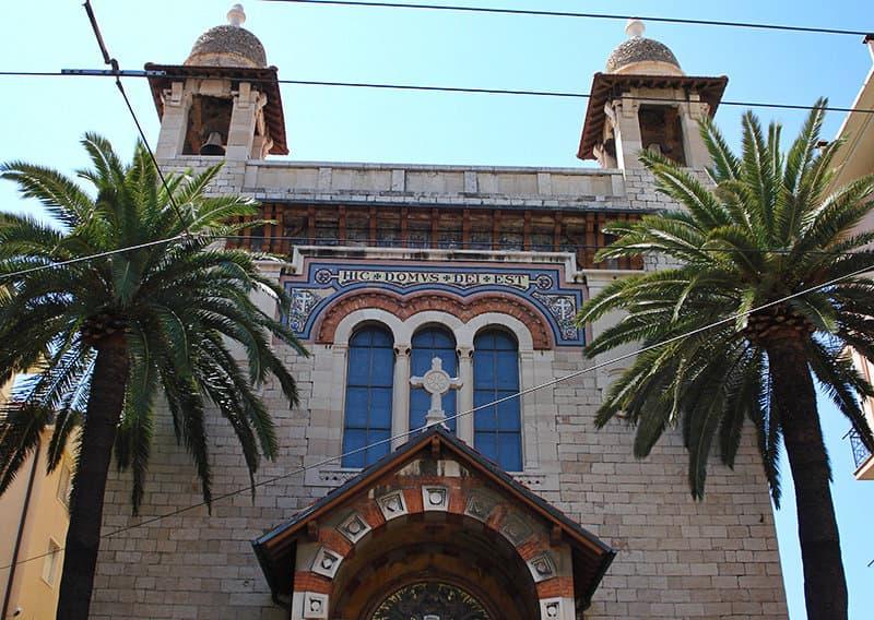 Une église à Bordighera