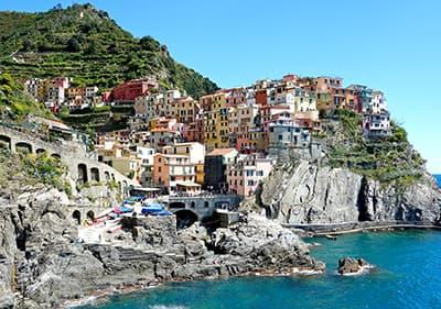 Le parc national des Cinque Terre en Ligurie