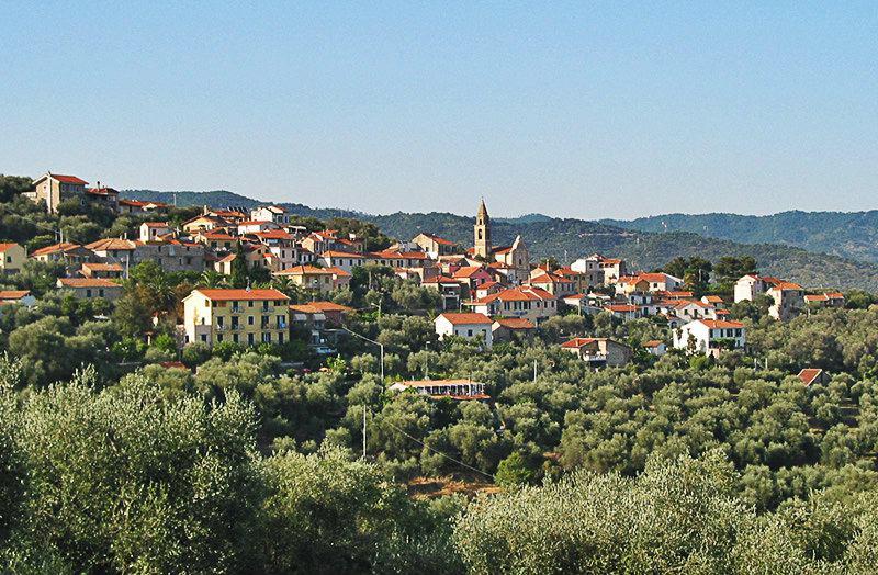 Belle vue sur la destination de vacances Diano Gorleri