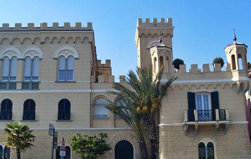 La vieille ville de Albisola en Ligurie