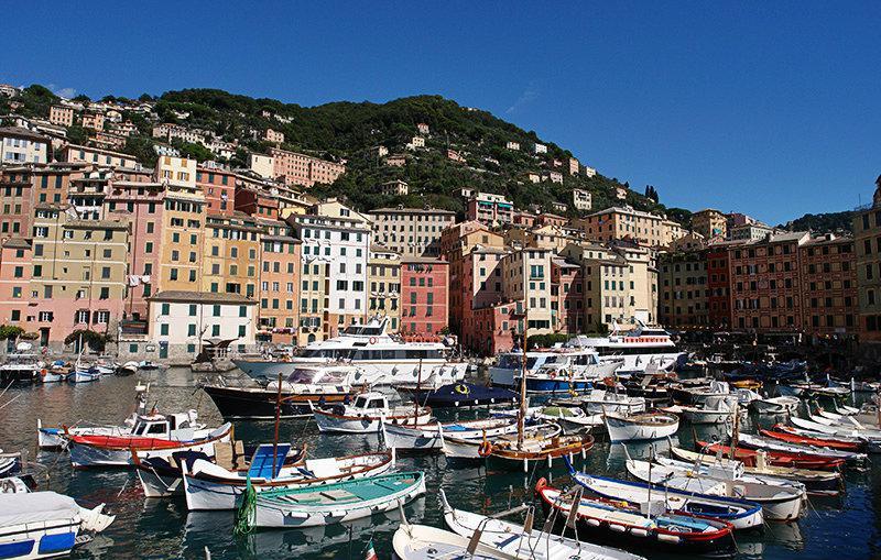 Un beau port de Camogli