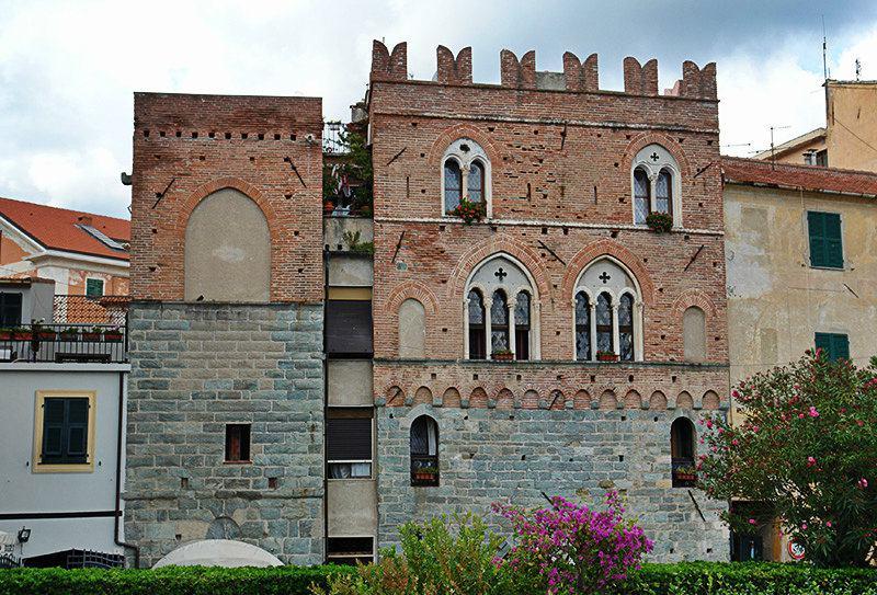 Vue de Casa Pagliano de Noli en Ligurie