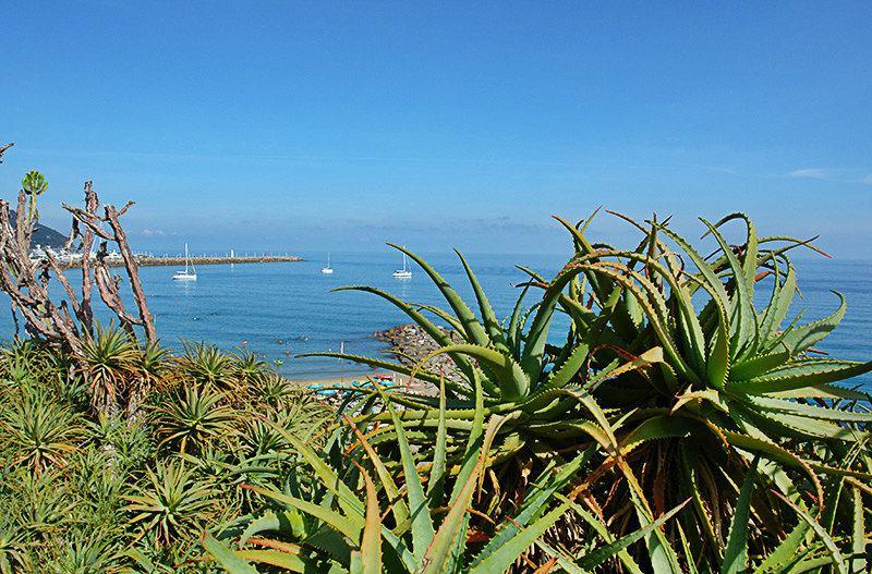 Une belle vue sur la mer à Imperia, Porto Maurizio