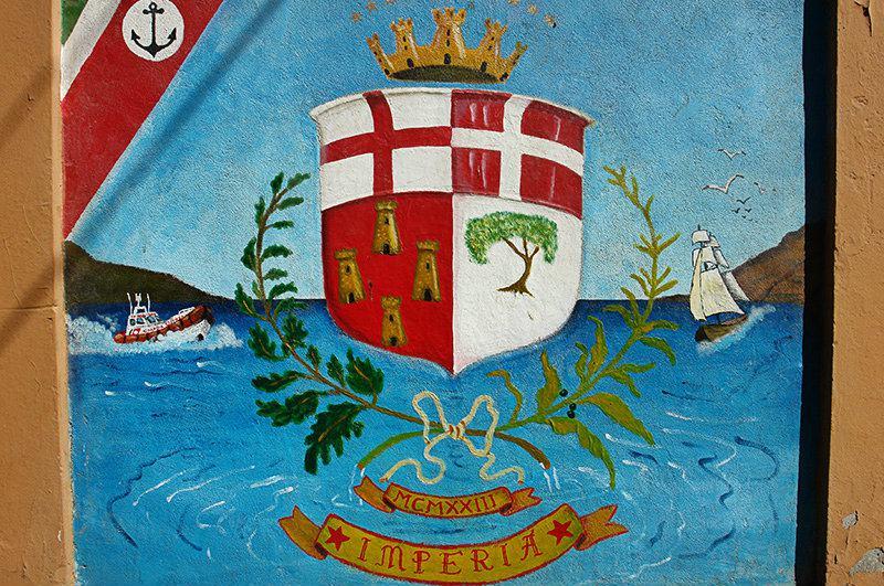 Blason de Imperia, Ligurie