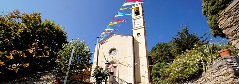 Eglise en Bellissimi, Ligurie