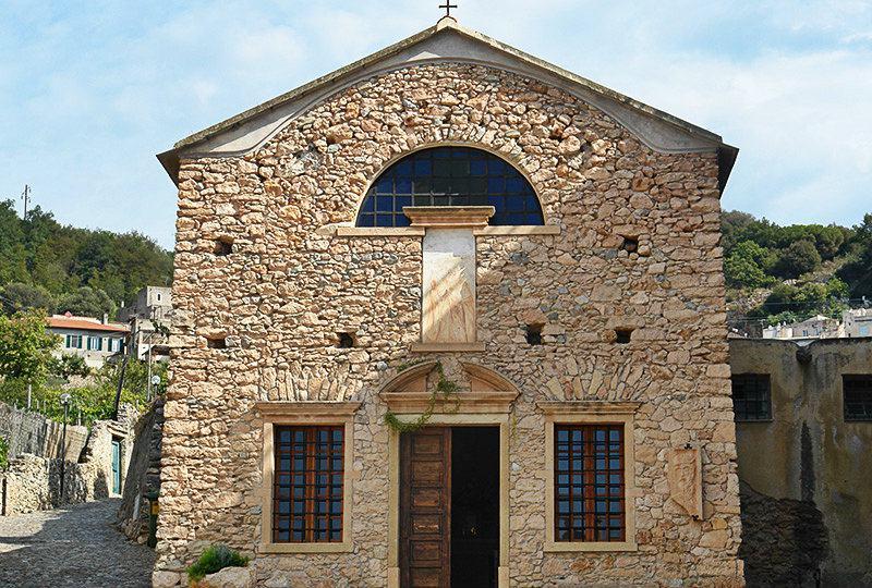Une église à Borgio Verezzi en Ligurie