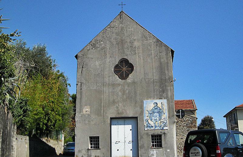 Une vieille église à Celle Ligure