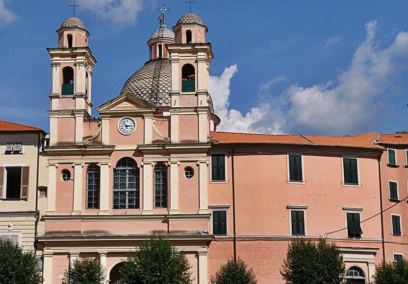 Eglise à Varese Ligure