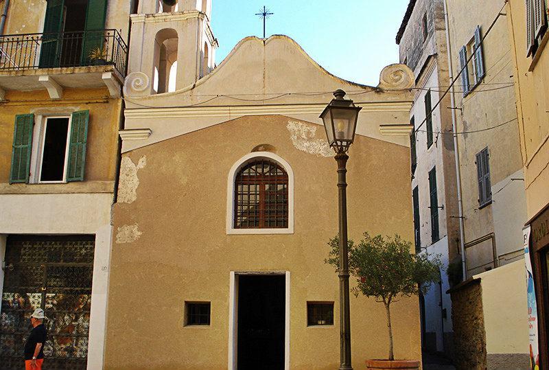 Eglise de Sant'Erasmo à Ospedaletti
