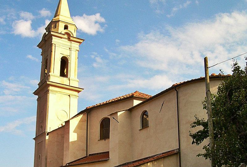 Chiesa Parrocchiale à Diano Gorleri, Ligurie