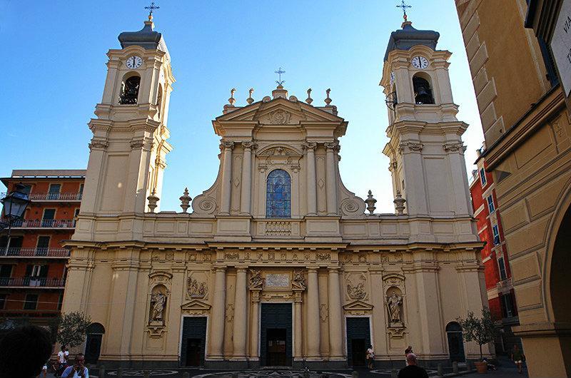 Une église de San Giacomo à Santa Margherita Ligure