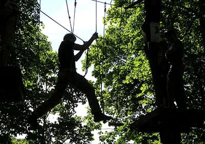 Escalade parc en Ligurie