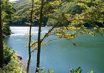 Lago di Osiglia en Ligurie