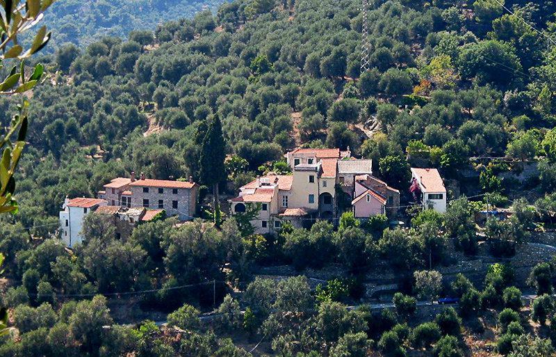 Belle vue d'une destination de vacances Besta en Ligurie