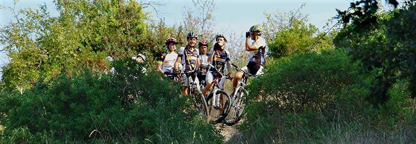 Tour de vélo de montagne à Diano Marina