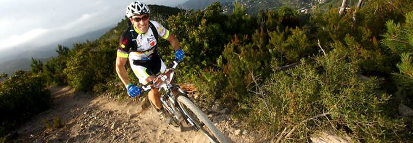 Mountain biking tours in Liguria