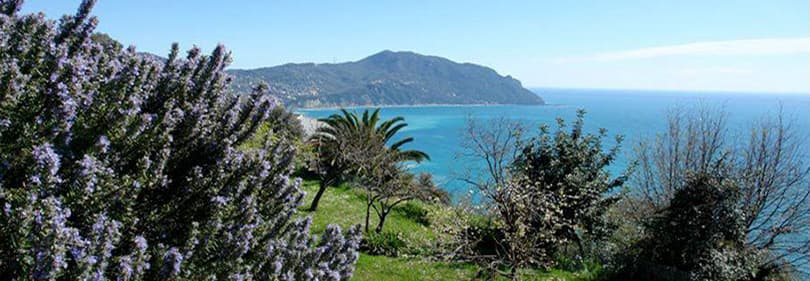 Une vue magnifique de la nature ligurienne