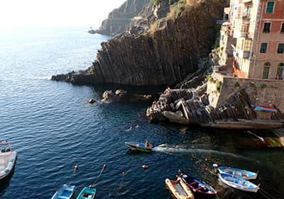 Parc naturel à Riomaggiore, Cinque Terre