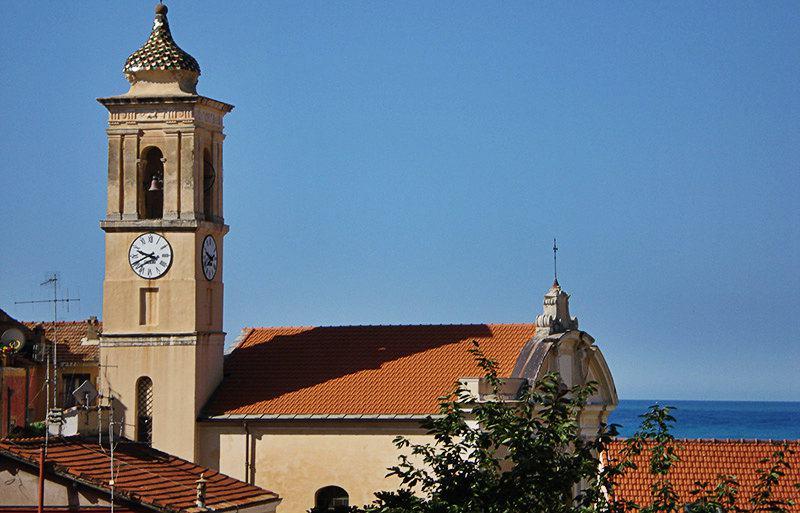 Vue de Chiesa di San Giovanni Battista à Ospedaletti