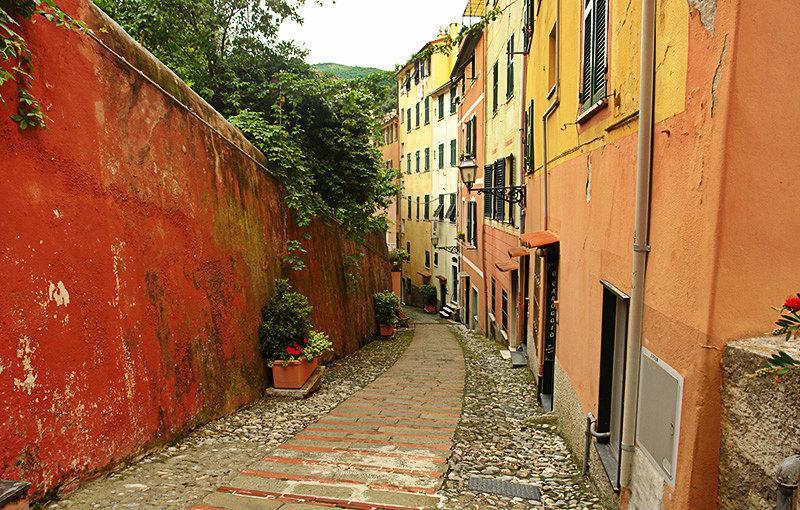 Une rue romantique de Sori