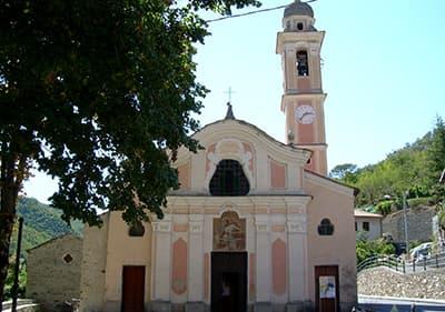 Eglise San Lorenzo Acquatico en Ligurie
