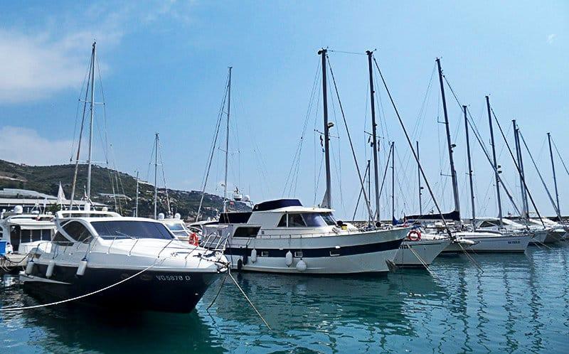 Un beau port de San Lorenzo al Mare