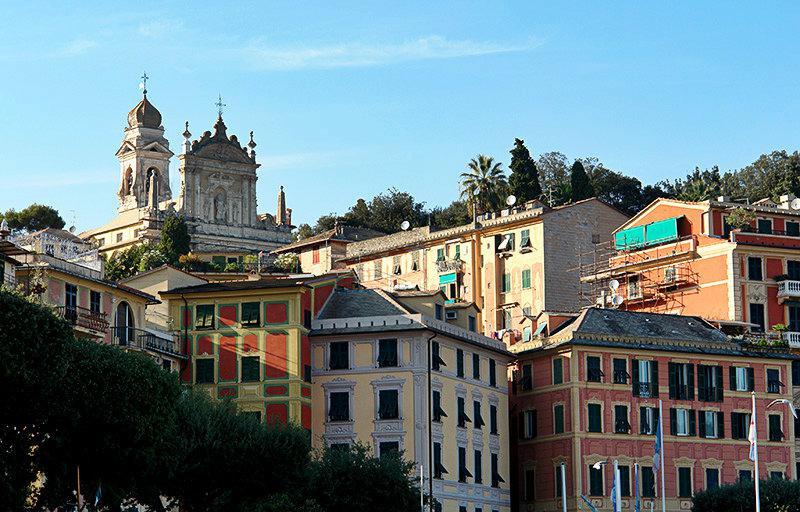 Une belle vue sur la destination de vacances Santa Margherita Ligure