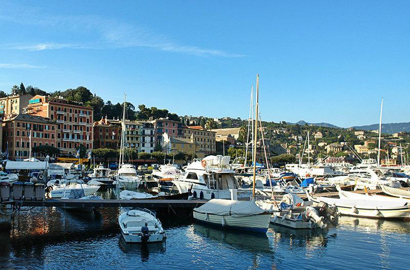 Une belle vue sur Santa Margherita Ligure et son port