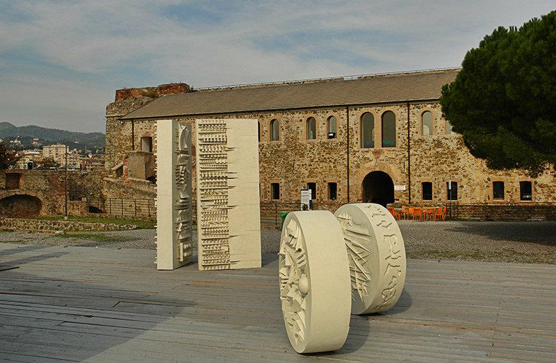 Sculptures de Château Priamar à Savona