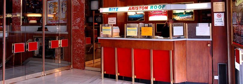 Ticket center of Teatro Ariston in Sanremo, Liguria