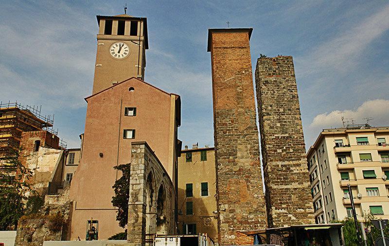 Torre Bindale à Savona, Ligurie