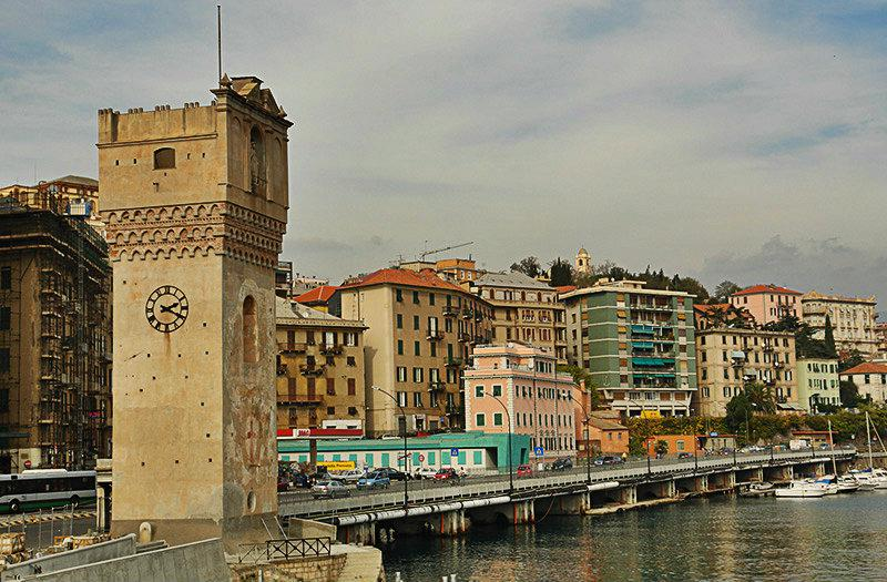 Torre Leon Pancaldo à Savona, Ligurie